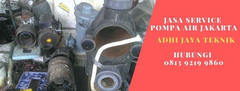 Service Pompa Air di Melawai Jakarta Selatan