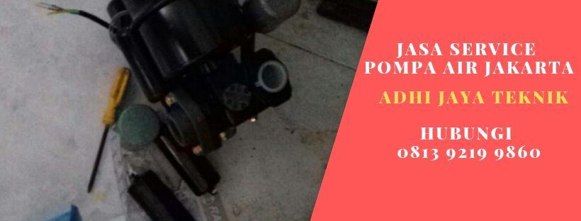 Service Pompa Air di Kota Baru Bekasi