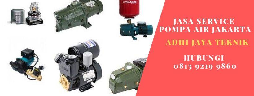 Service Pompa Air di Sarimukti Bekasi